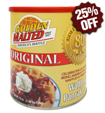 Original Waffle and Pancake Mix - Premium Classic Canister