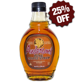 Anderson's Pure Maple Syrup 8oz Bottle