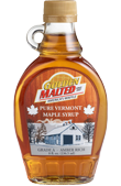 Golden Malted Pure Maple Syrup 8oz Bottle