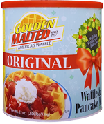 Original Waffle and Pancake Mix - Holiday Collector's Canister