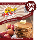 Organic Apple Cinnamon Waffle & Pancake Mix