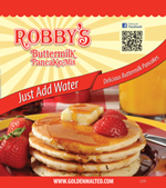 Robby's Add Water Buttermilk Pancake Mix