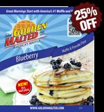 Blueberry Waffle & Pancake Mix