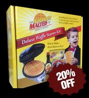 Deluxe Waffle Starter Kit