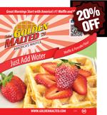 Just Add Water Non-GMO Waffle & Pancake Mix