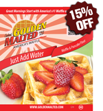 Just Add Water Non-GMO Waffle & Pancake Mix
