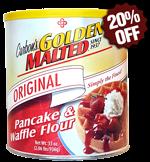 Original Waffle and Pancake Mix - Premium Classic Canister