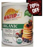 Organic Original Waffle & Pancake Mix - 16 oz. Canister