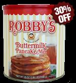 Original Robby's Buttermilk Pancake Mix - Premium Classic Canister