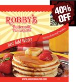 Robby's Add Water Buttermilk Pancake Mix
